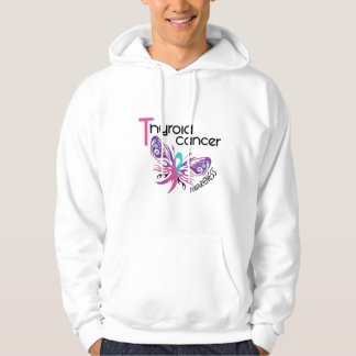 Thyroid Cancer BUTTERFLY 3.1 Hoodie