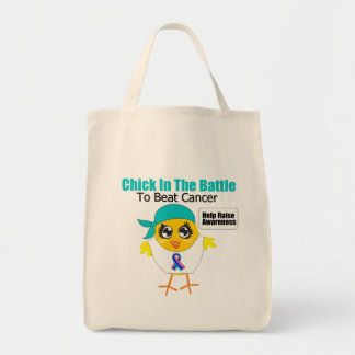 Thyroid Cancer Chick In The Battle to Beat Cancer Bags