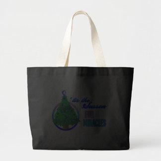 Thyroid Cancer Christmas Miracles Jumbo Tote Bag
