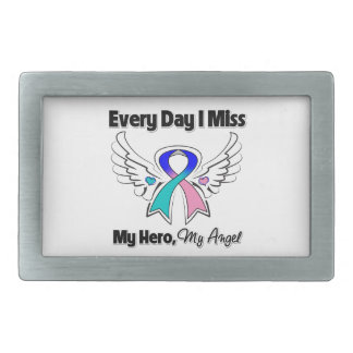 Thyroid Cancer Every Day I Miss My Hero Belt Buckle