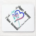 Thyroid Cancer Faith Hope Love Butterfly