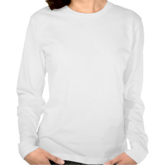 Thyroid Cancer Fight Like A Girl Silhouette T Shirts