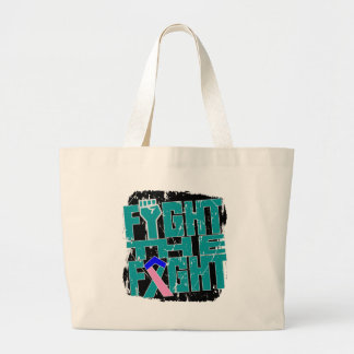 Thyroid Cancer Fight The Fight Canvas Bag