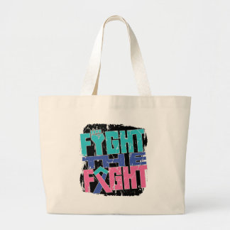 Thyroid Cancer Fight The Fight Tote Bag
