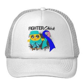 Thyroid Cancer Fighter Chick Grunge Mesh Hat