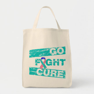 Thyroid Cancer Go Fight Cure Bags