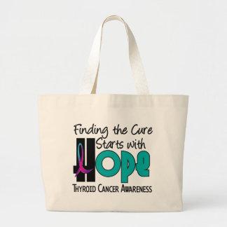 Thyroid Cancer HOPE 4 Canvas Bag