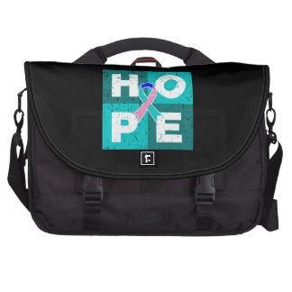 Thyroid Cancer HOPE Cube Laptop Commuter Bag
