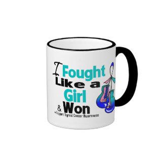 Thyroid Cancer I Fought Like a Girl and Won Mugs