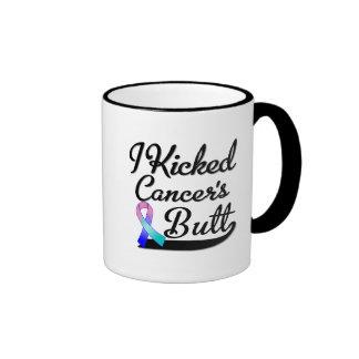 Thyroid Cancer I Kicked Butt Coffee Mug