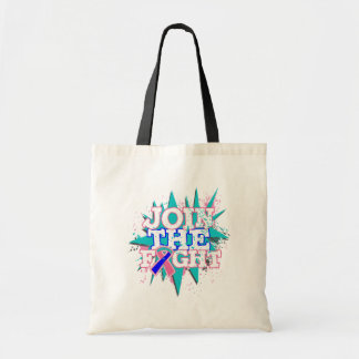 Thyroid Cancer Join The Fight Tote Bags