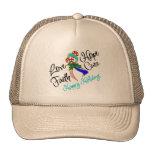 Thyroid Cancer Love Hope Holidays Hats