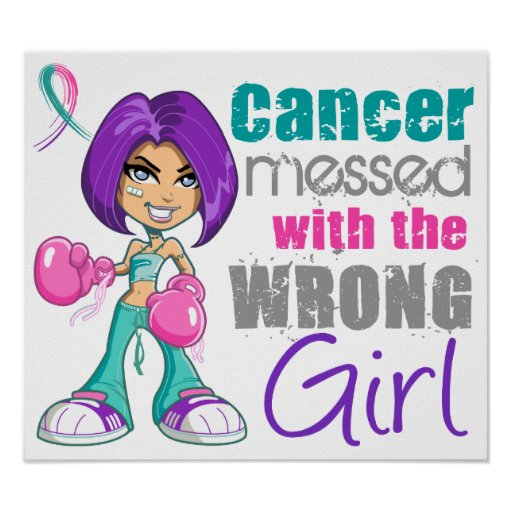 Thyroid Cancer Messed With Wrong Girl.png Poster