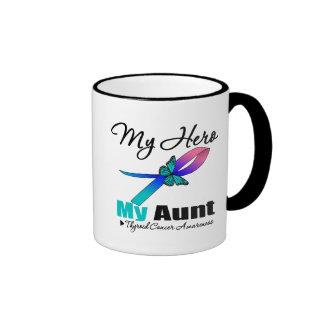 Thyroid Cancer My Hero My Aunt Coffee Mugs