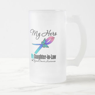 Thyroid Cancer My Hero My Daughter-in-Law Mugs