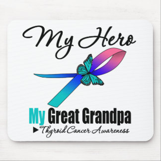 Thyroid Cancer My Hero My Great Grandpa Mouse Pad