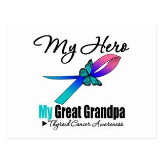 Thyroid Cancer My Hero My Great Grandpa Postcard
