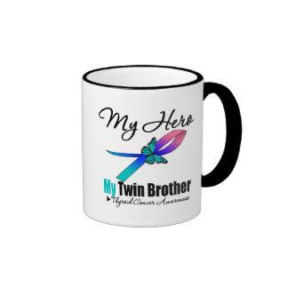 Thyroid Cancer My Hero My Twin Brother Coffee Mugs