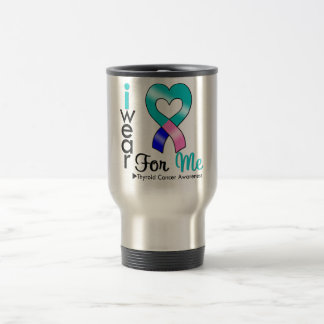 THYROID CANCER Ribbon For Me Mugs