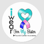 Thyroid Cancer Ribbon For My Sister