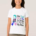 Thyroid Cancer Ribbon Hero My Mum T-shirts