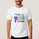 Thyroid Cancer Ribbon Hero My Wife Tee Shirt