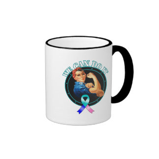 Thyroid Cancer - Rosie The Riveter - We Can Do It Mug