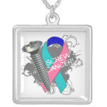 Thyroid Cancer - Screw Cancer Necklaces