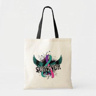 Thyroid Cancer Survivor 16 Canvas Bag