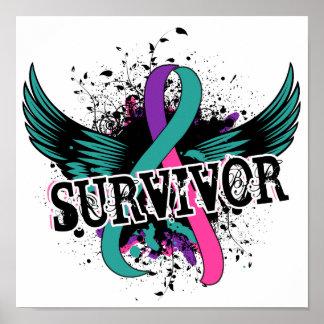 Thyroid Cancer Survivor 16 Poster