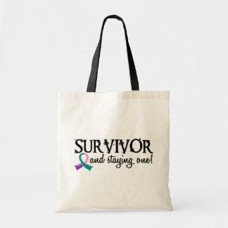 Thyroid Cancer Survivor 18 Tote Bag