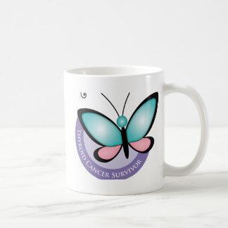 Thyroid Cancer Survivor Basic White Mug