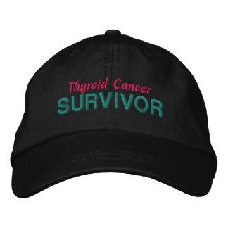 Thyroid Cancer Survivor Embroidered Hat