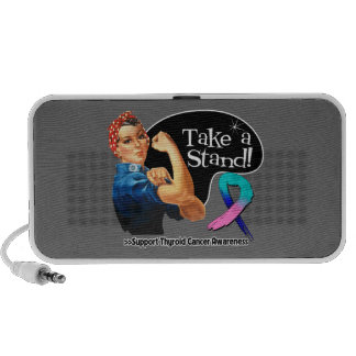 Thyroid Cancer Take a Stand iPhone Speaker