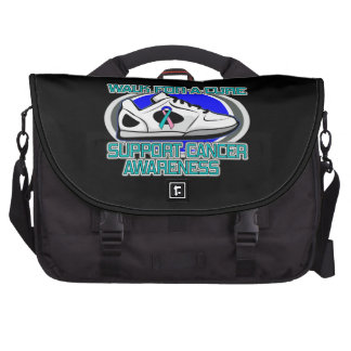 Thyroid Cancer Walk For A Cure Laptop Commuter Bag