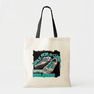 Thyroid Cancer Walk For A Cure Shoes Budget Tote Bag