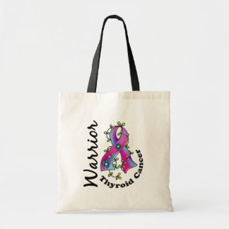 Thyroid Cancer Warrior 15 Tote Bags