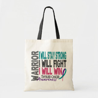Thyroid Cancer Warrior Bags