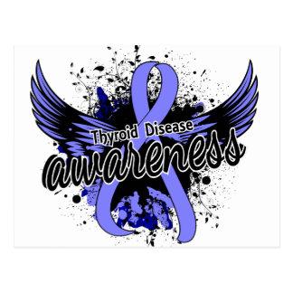 Thyroid Disease Awareness 16 Postcard
