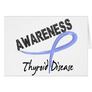 Thyroid Disease Awareness 3 Greeting Card