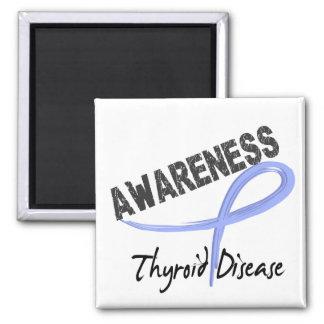 Thyroid Disease Awareness 3 Refrigerator Magnets
