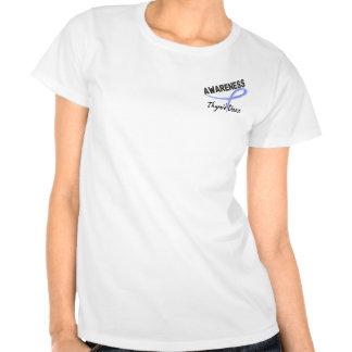 Thyroid Disease Awareness 3 Tshirt