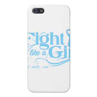 Thyroid Disease Fight Like A Girl Elegant iPhone 5 Cover