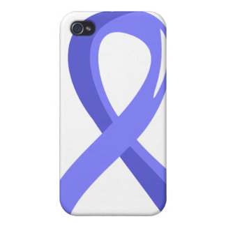 Thyroid Disease Light Blue Ribbon 3 iPhone 4/4S Cover