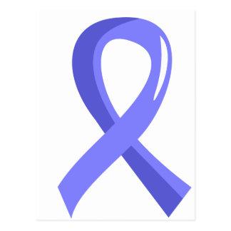 Thyroid Disease Light Blue Ribbon 3 Postcard
