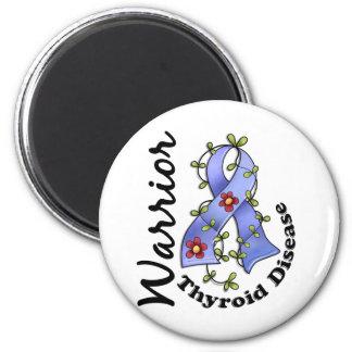Thyroid Disease Warrior 15 Fridge Magnet