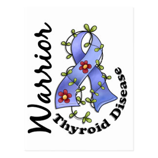 Thyroid Disease Warrior 15 Postcard