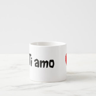 Ti amo - I love you in Italian Espresso Mug