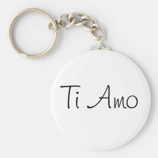 Ti Amo/I Love You Key Ring
