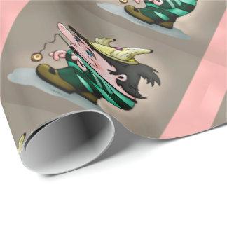 Ti-BRETON CARTOON FUNNY Wrapping Paper